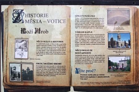 Boží hrob na Františkánském hřbitově Votice_1