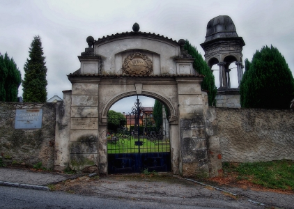 Boží hrob na Františkánském hřbitově Votice