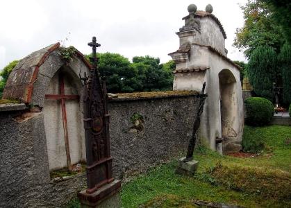 Boží hrob na Františkánském hřbitově Votice_8