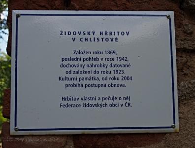 Židovský hřbitov Chlítov_2