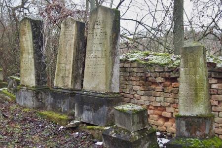 Židovský hřbitov Slavkov u Brna